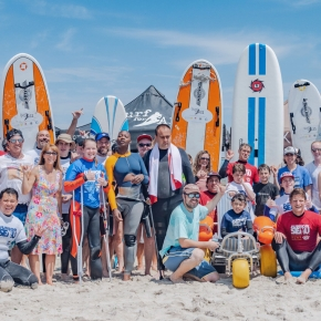 Challenged Athletes Foundation/ Gala + Adaptive Surf Clinic